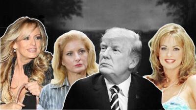 Tres fantasmas del pasado de Donald Trump que ahora lo acorralan en los medios y en las cortes