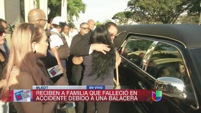 Comenzaron los funerales de familia fallecida en accidente provocado por tiroteo en Dorado