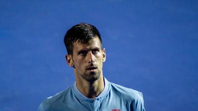 Novak Djokovic no jugará por lesión el Masters 1000 de Miami