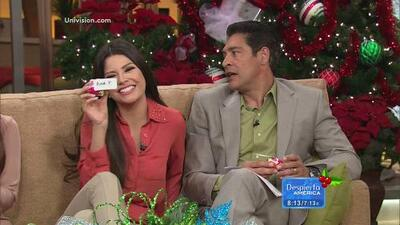 En Despierta América hicieron su intercambio de regalos navideños