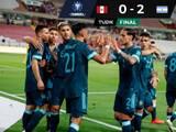 Argentina derrota a Perú y sigue al acecho de Brasil en la Eliminatoria