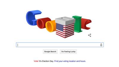 Google dedica su Doodle a las elecciones legislativas