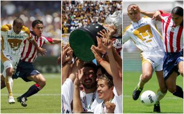 ¿Qué ha sucedido entre Pumas y Chivas desde el 13 de junio de 2004?