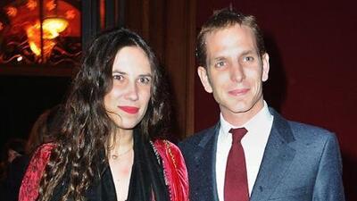 Discreta boda de Andrea Casiraghi y Tatiana Santo Domingo en Mónaco