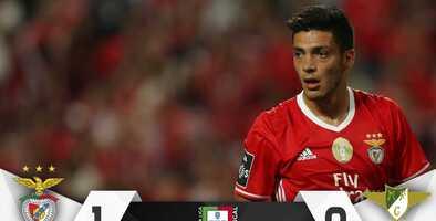 Benfica y Jiménez se despidieron con victoria y aseguraron Champions League