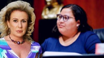 Laura Zapata insulta públicamente a una senadora mexicana por darle la bienvenida a Evo Morales a su país