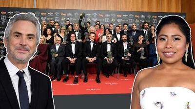 'Roma' triunfa en los Premios Goya