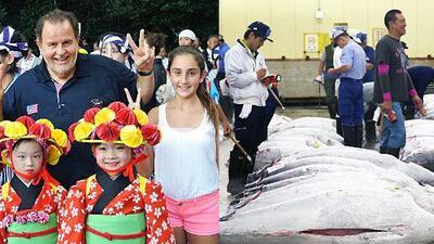 Mi Mundo con Mia: ¡Mira cuánto iba a gastar Raúl en un atún japonés bien GORDO!