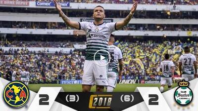 Santos evita la remontada del América y es finalista del Clausura 2018