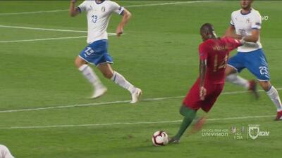 Otro aviso portugués ¡Qué bueno está el juego!