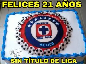 Memelogía: en redes sociales recuerdan el cumpleaños sin títulos del Cruz Azul