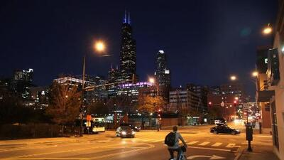 Chicago disfrutará de una noche tranquila y fresca, luego de algunas lluvias ligeras durante la tarde