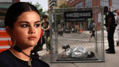 """""""No te quedes en silencio"""": el llamado de Selena Gómez ante el trato """"inhumano"""" a los migrantes"""