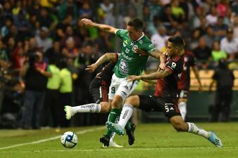 En fotos: León y Atlas reparten puntos en la J11 de la Liga Mx