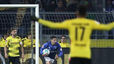 Amione Harit demuestra el gran corazón del Schalke al meter el 4-2