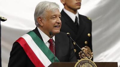 """""""He recibido un trato respetuoso de Donald Trump"""": AMLO en su primer discurso como presidente de México"""