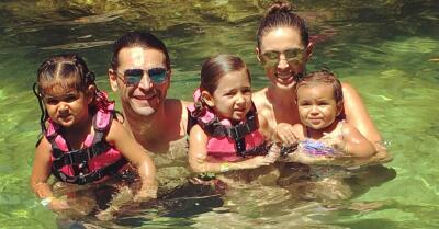 Mira lo bien que la pasó Jacky Bracamontes con su familia en la Riviera Maya