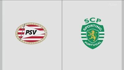 PSV 3-2 Sporting Lisboa - Resumen y Goles - Grupo D - Europa League