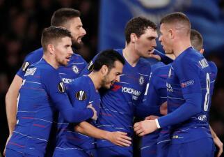 En fotos: Chelsea fue superior a Dinamo Kiev con un 3-0 en la ida de Octavos en Europa League