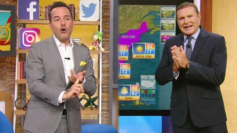 DAEnUnMinuto: Carlos ya perdió la cuenta de cuántas exnovias tiene, y Alan es el nuevo 'chico del weather'