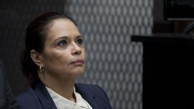 La exvicepresidenta guatemalteca Roxana Baldetti es condenada a 15 años de cárcel por corrupción