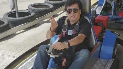 'La Carineta' a toda velocidad en los go-karts