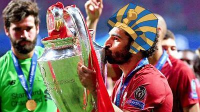 La vida te da revanchas: seguimiento al 'Faraón' en su noche como campeón de la Champions League