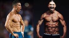 ¡De cero a abdomen de acero! El antes y después de futbolistas