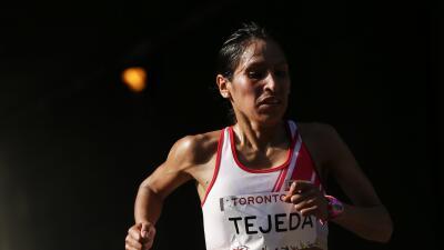 Retiran oro por dopaje en Toronto a atleta peruana Tejeda