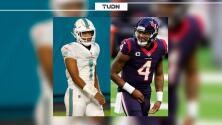 Analizaría Deshaun Watson un trade por Tua a Dolphins