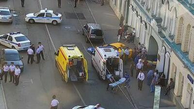 Fanáticas mexicanas entre los heridos por un arrollamiento en el centro de Moscú