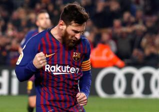 En fotos: Barcelona ganó, pero Lionel Messi empató en su duelo con Jordi Masip