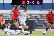 México hizo buen primer tiempo, pero cayó 3-0 ante España