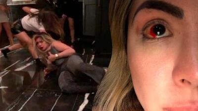 Golpean a la actriz Paola Villalobos en el baño de un bar en México