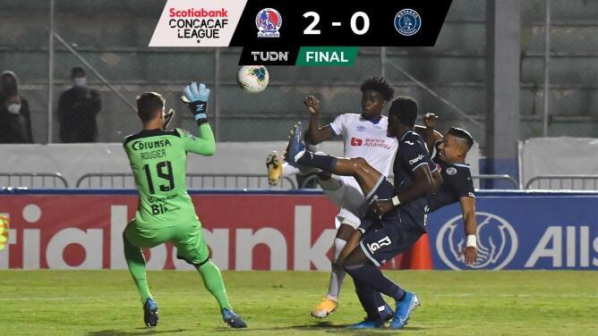 Olimpia le gana 2-0 el clásico a Motagua y avanza en Concacaf League