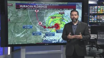 Florence comienza a desplazarse para llegar a Carolina del Sur este fin de semana