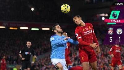 Liverpool le pega al City y se aleja en la Premier