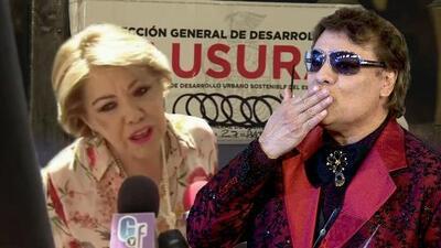 Ni los sellos de clausura en su casa impidieron que Silvia Urquidi homenajeara a Juan Gabriel a 3 años de su muerte