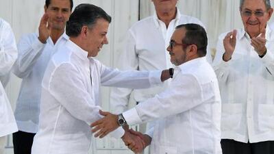 Acuerdo de paz: líder de las FARC pide perdón a los colombianos por el dolor causado