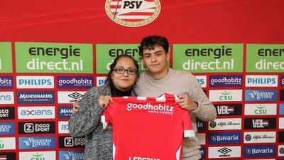 Juvenil mexicano marcó su primer gol con el PSV Eindhoven Sub 19