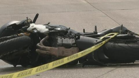 Investigan accidente de motocicleta en el que dos personas perdieron la vida en Irving