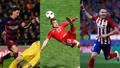 Tantos de Messi, Saúl Ñíguez y Shaqiri, candidatos a gol de la temporada en UEFA.com