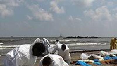 Derrame de crudo en el Golfo sería el mayor en historia de EU; Obama visita zona afectada