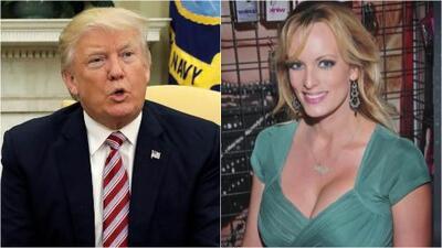 El FBI sabía que Trump estuvo involucrado en el pago a la actriz porno Stormy Daniels a cambio de su silencio