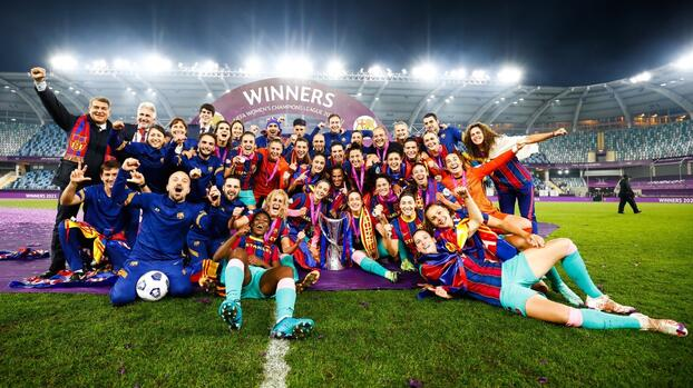 Barcelona goleó a Chelsea y son monarcas de Champions League femenil