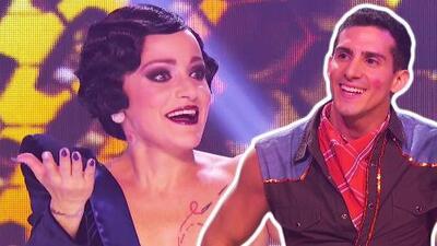 """""""Hoy bailó, bailó, bailó"""": Lola Cortés aplaude el baile de Rommel Pacheco"""