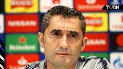 """Valverde: """"No vamos a correr ningún riesgo con Messi"""""""