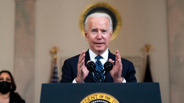 Biden anuncia que ya se administraron 200 millones de dosis de vacunas en EEUU