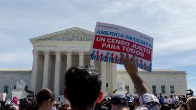 La pregunta sobre ciudadanía del censo deja al descubierto las divisiones ideológicas en la Corte Suprema
