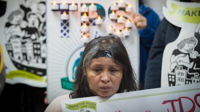 En fotos: Salvadoreños en Washington protestan la cancelación del TPS